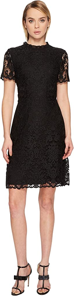 Kate Spade New York - Tapestry Lace A-Line Dress