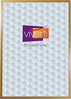 Thin Oak Finish Ready Made Picture Frame, A1 Size, 59.4 x 84 cm,