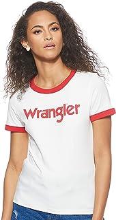 Wrangler womens Ringer Tee, T-Shirts