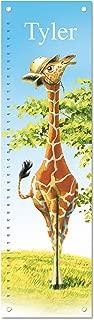 Personalized Growth Chart Ruler Giraffe Nursery Décor
