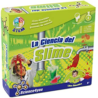 comprar comparacion Science4you La Ciencia Viscosa del Slime - Juguete educativo y científico