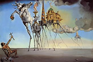 Salvador Dali - The Temptation of St. Anthony - Canvas OR Print Wall Art