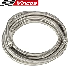 20 Ft 8AN AN8 Universal Braided Stainless Steel PTFE TEFLON Oil Fuel Gas Line Hose