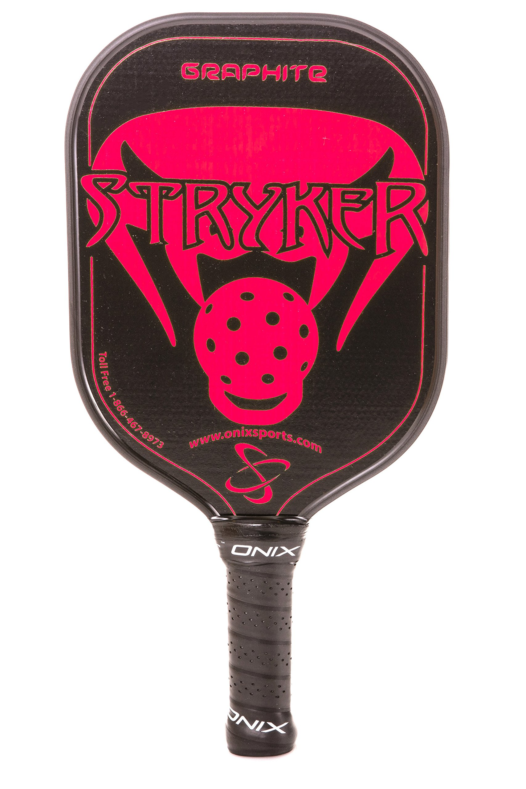 Onix Graphite Stryker Pickleball Paddle Features Oversized N
