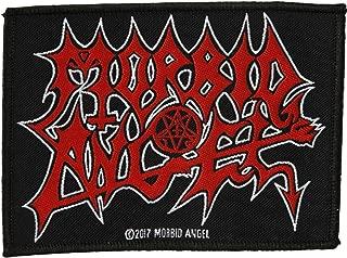 Morbid Angel Men's Logo Woven Patch Black