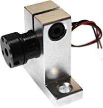 farhop 5mW 650nm Red Laser Module Dot 650-D-12-30-G-5-3 with Aluminum Laser Mount Holder