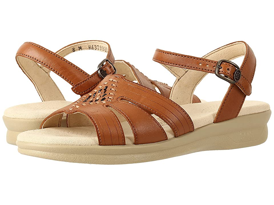 Vintage Sandals | Wedges, Espadrilles – 30s, 40s, 50s, 60s, 70s SAS Huarache Antique Tan Womens Shoes $124.95 AT vintagedancer.com
