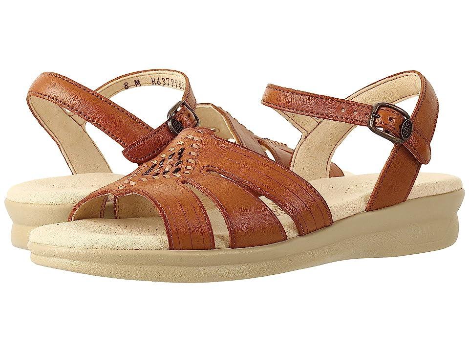 60s Shoes, Boots | 70s Shoes, Platforms, Boots SAS Huarache Antique Tan Womens Shoes $124.95 AT vintagedancer.com