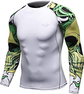 AOTORR Men's Athletic Compression Sport Baselayer Underlayer Long Sleeve Cool Dry Workout Shirt