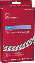 connoisseurs jewelry cleaner silver cloth