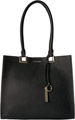 Calvin Klein - North/South Novelty Smooth Boxed Tote