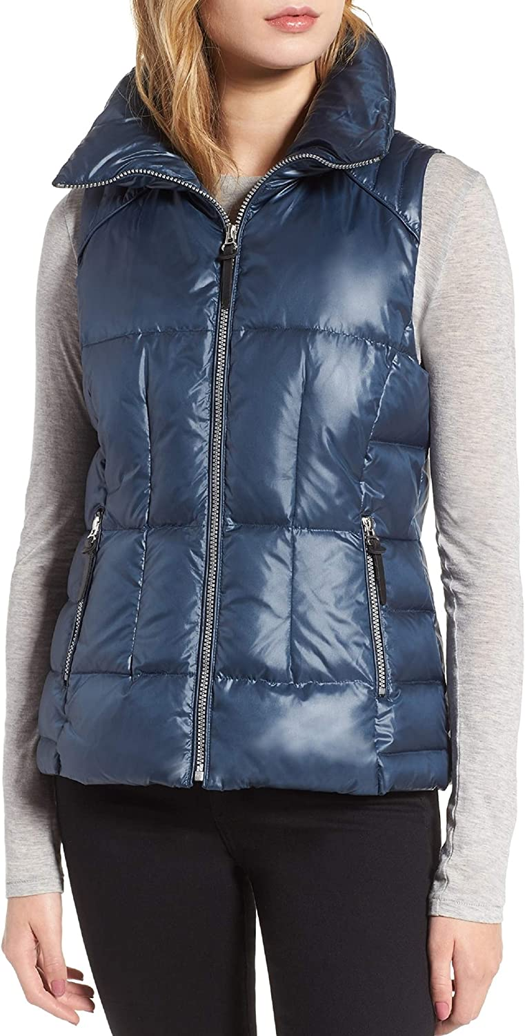 Marc New York by Andrew Marc Women's Lanie 24  Lacquer Puffer Jacket