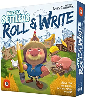 Portal Games Imperial Settlers Roll & Write Board Game