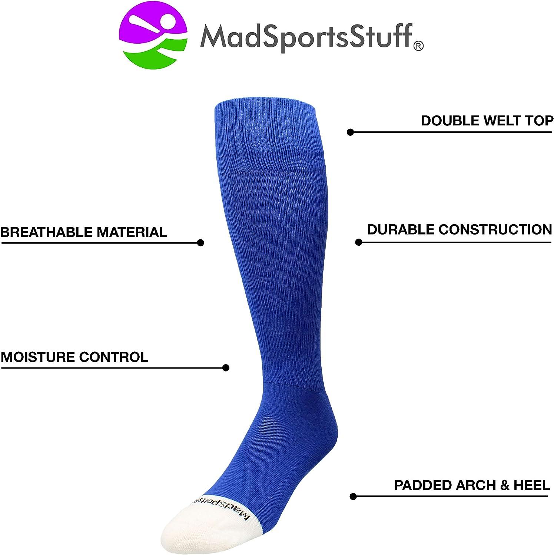 MadSportsStuff Pro Line Baseball Socks and Belt Combo Youth and Adult