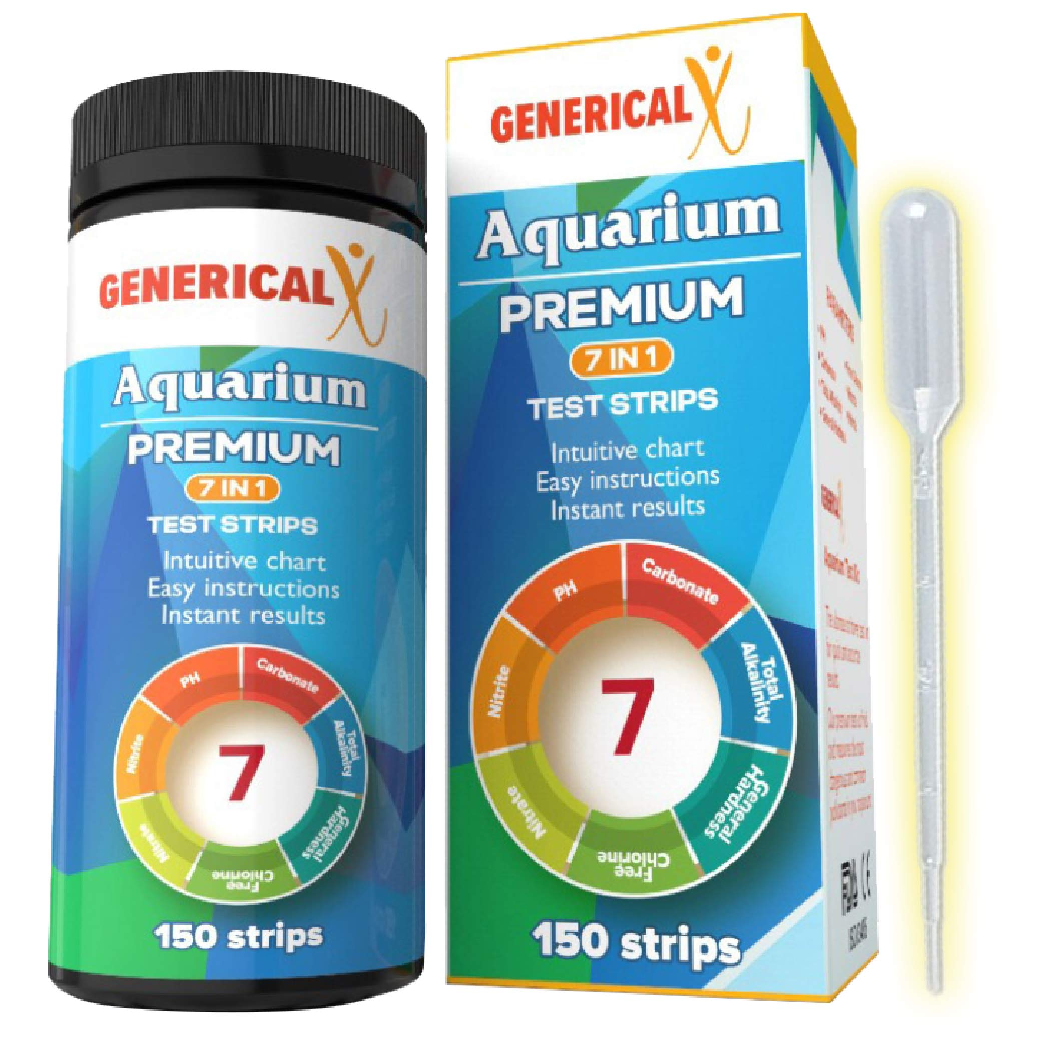 Aquarium Test Strips Parameter Approved