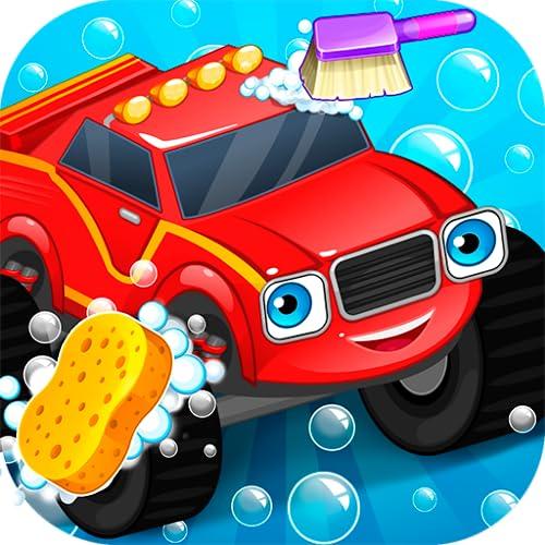 Lavage de voitures - Monster Truck