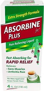 Absorbine Jr Plus Pain Relieving Liquid - 4 oz, Pack of 6