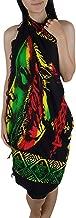 Rhythm of Bob Marley Beachwear Cover up Swimsuit Women Pareo Sarong