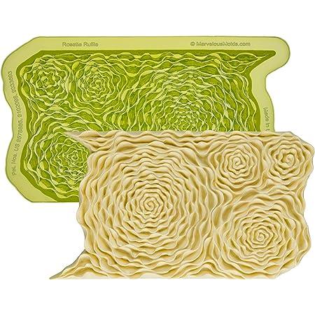 Marvelous Molds Moroccan Lattice Silicone Onlay MoldFondantCake Decorating