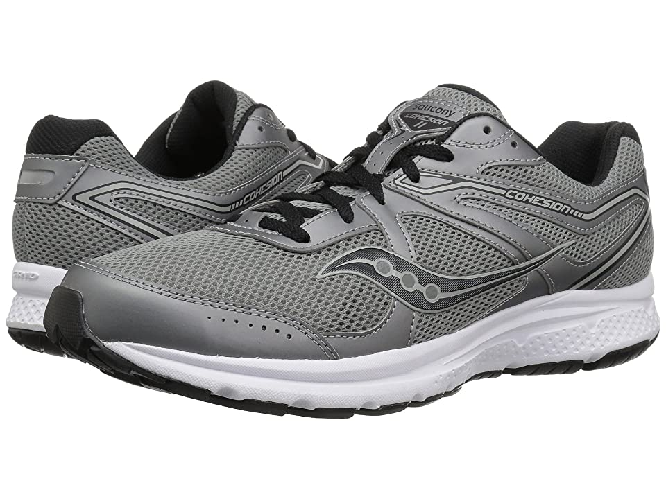 Saucony Cohesion 11 (Gunmetal/Black) Men