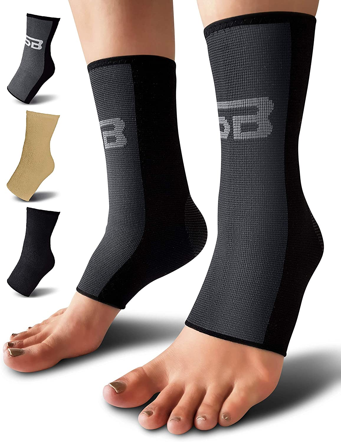 SB SOX Compression Ankle Max 60% OFF Brace Pair Ranking TOP17 – Support Great