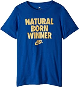 Sportswear Born Winner T-Shirt (Little Kids/Big Kids)
