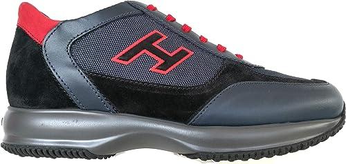 Hogan Sneaker Interactive Uomo H Flock Pelle HXM00N0Q101O8M50BU 41 ...