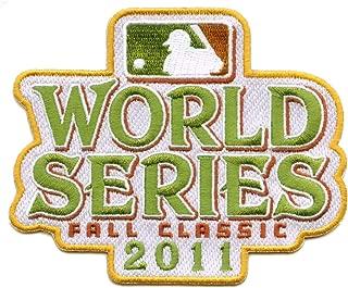 2011 World Series Fall Classic MLB Baseball Jersey Sleeve Patch - Texas Rangers vs St. Louis Cardina