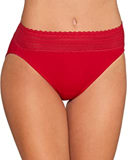 Warner's Women's No Pinching No Problems with Lace Hicut Underwear