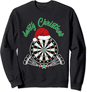 CHRISTMAS Dart Darts Dartboard Sport Player Funny Gift Sweatshirt