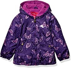 London Fog Girls' Midweight Fleece Lined Jacket