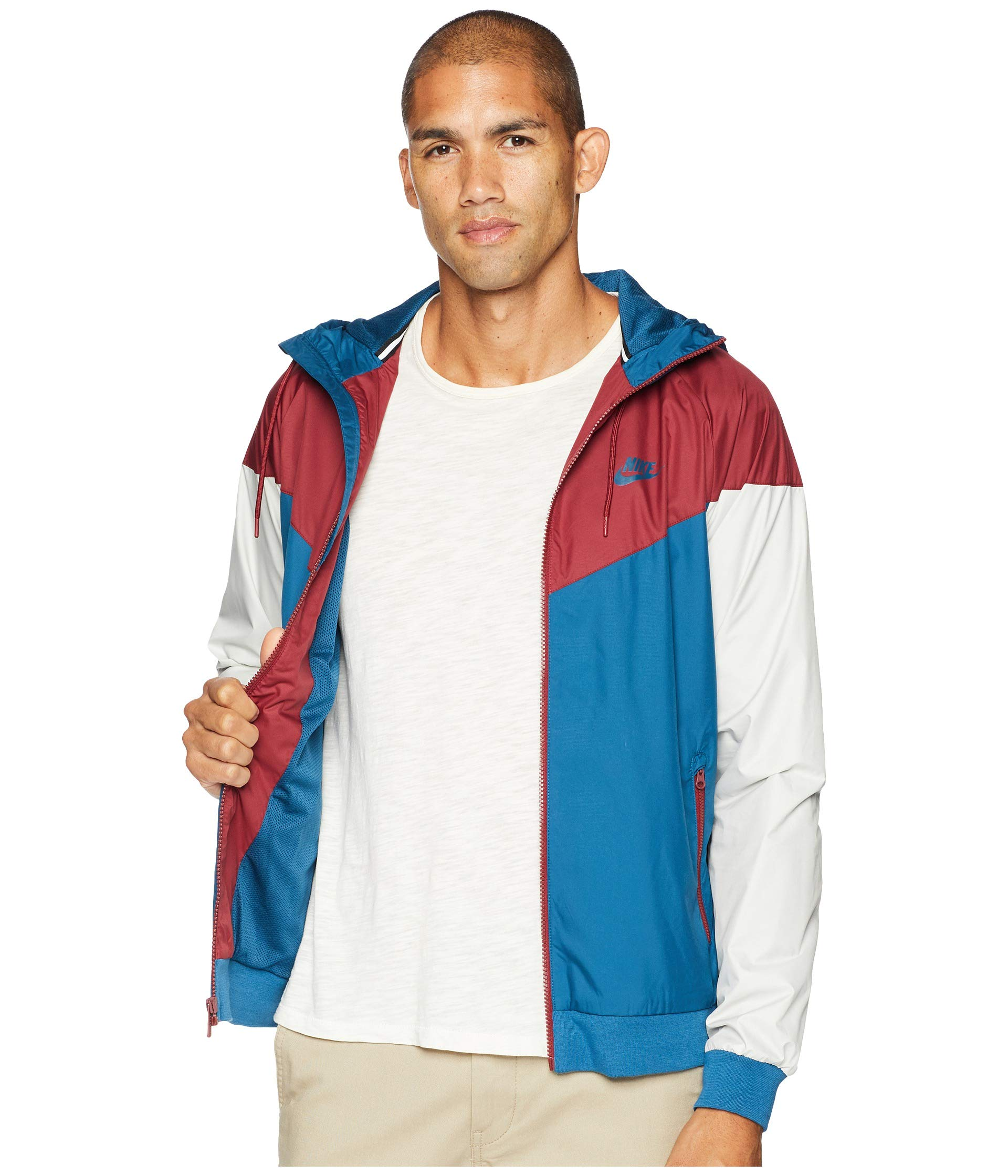 Windrunner Nike team Force Red Force Blue Jacket Sportwear blue AxxF5q1