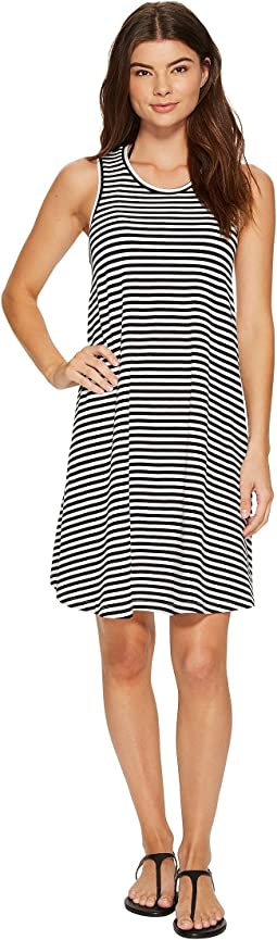 Seafolly Indian Summer Mini Stripe Swing Jersey Dress Cover-Up