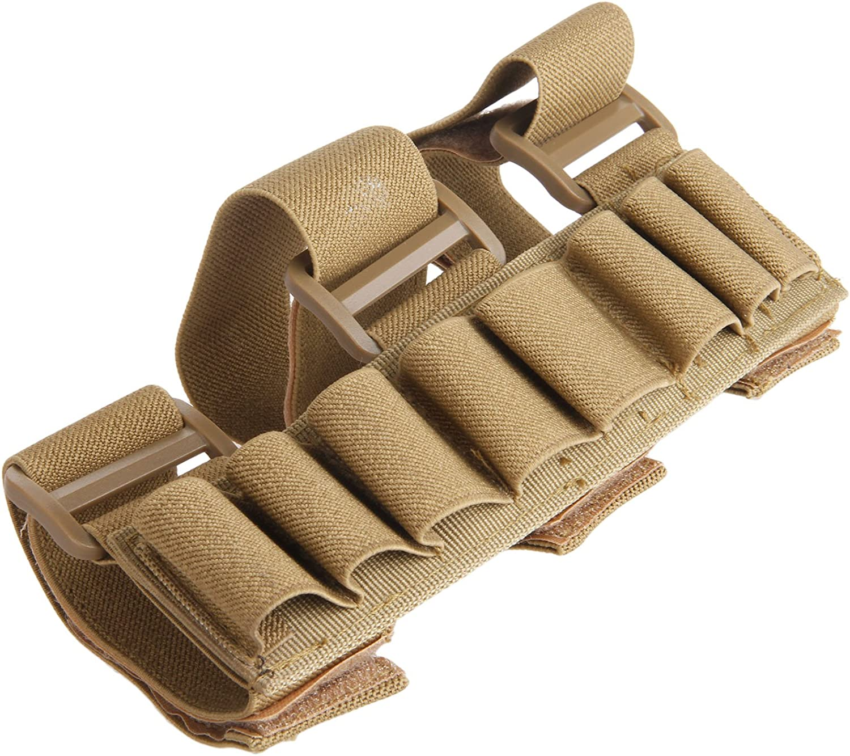 MUXSAM Gun Stock Ammo Pouch Storage Holder Shotgun Baltimore Mall 8 Round Shell Max 75% OFF