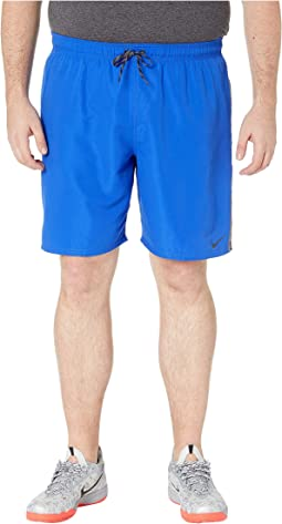 "Big & Tall 9"" Perforated Diverge Volley Shorts"