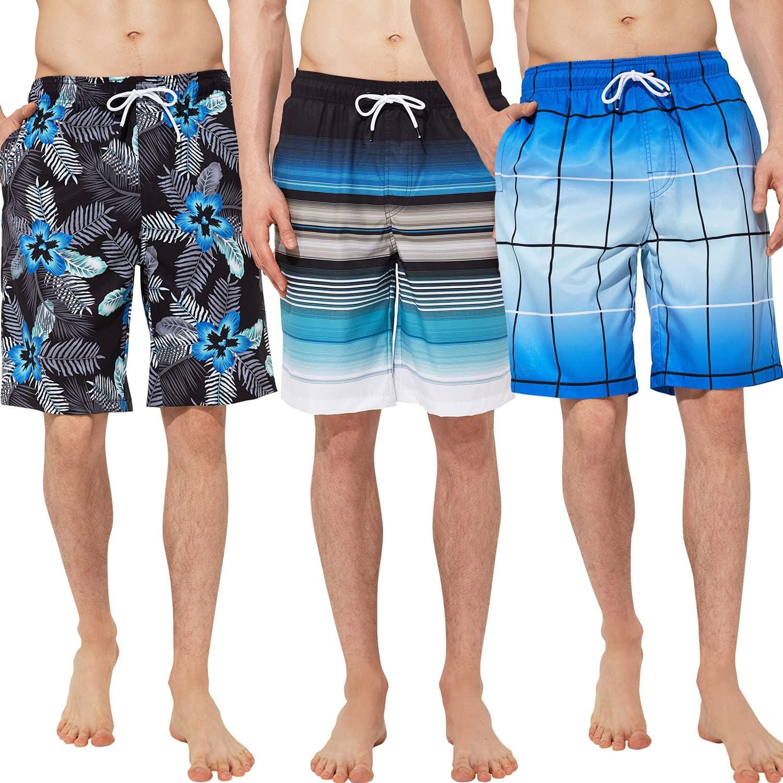Zentrex Men's Swim Trunks Soldering Beach Swimwear Shorts Bargain sale Quick Dry
