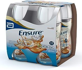 Ensure Plus Advance Supplemento Alimentare Formato Bevanda | Confezione 4x220ml | Gusto Cioccolato