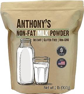 Sponsored Ad - Anthony's Non Fat Milk Powder, 2 lb, Instant, Gluten Free & Non GMO
