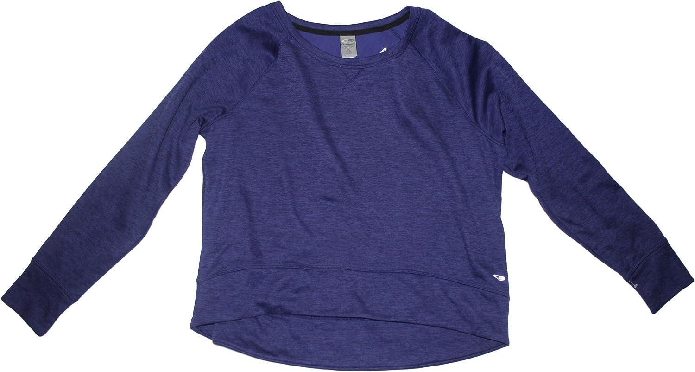 C.C Duo Dry Womens Crew Neck Ultra Soft Warm Brushed Long Sleeve Sweatshirt