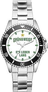Bremen Geschenk Artikel Idee Fan Uhr 6029