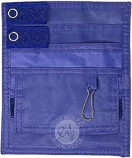 Elite Medical Instruments EMI Scrub Pocket Nylon Organizer (EAO-314-RB), Royal Blue