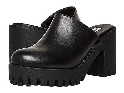 Steve Madden Bayside Mule (Black Leather) Women
