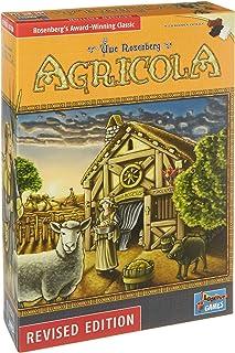 Agricola Game New Revised Edition� || Bonus 3 Gold Metallic Cloth Drawstring Storage Pouches || Bundled Items