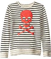 Striped Crew Neck (Toddler/Little Kids/Big Kids)