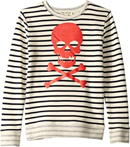 Striped Crew Neck (Toddler/Little Kids/Big Kids)