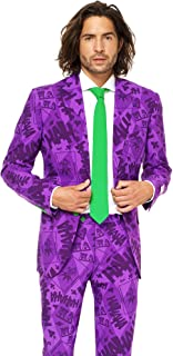 Mens The Joker Suit and Tie By Opposuits,The Joker,40