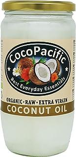 CocoPacific - Aceite de coco virgen extra bio y crudo, 750 ml