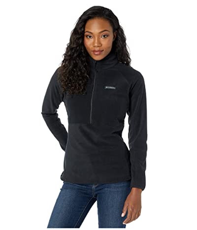 Columbia Basin Trailtm Fleece 1/2 Zip (Black) Women