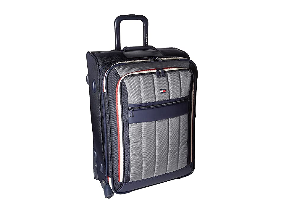 Tommy Hilfiger Classic Sport 25 Upright Suitcase (Navy/Grey) Pullman Luggage