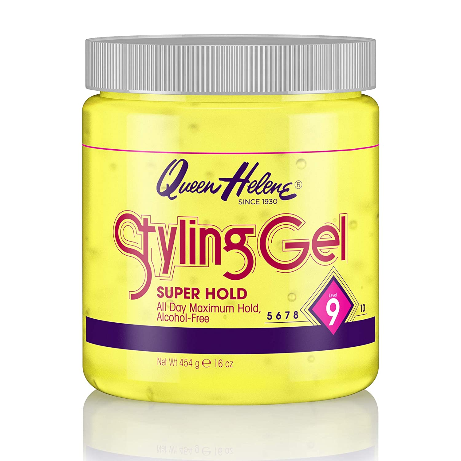Queen Helene Styling Gel Super Hold Packaging Ounce 16 May Same day shipping shopping Va